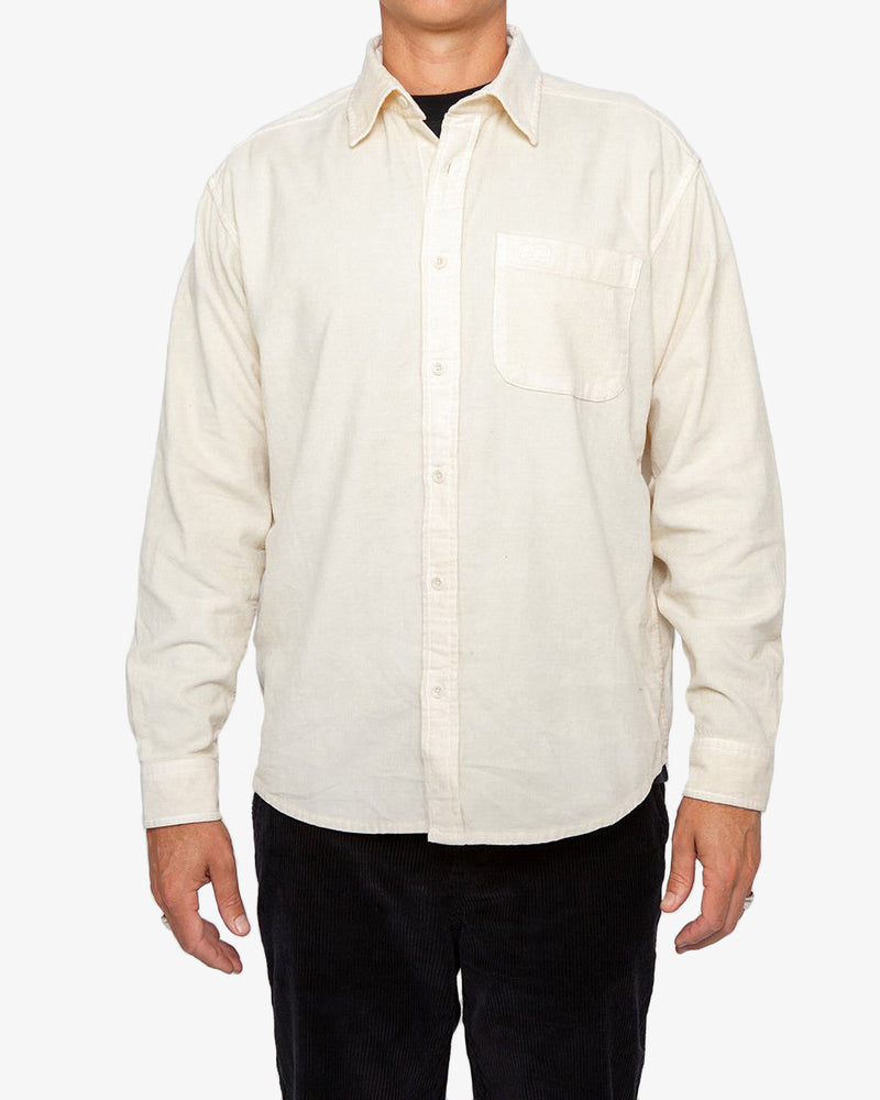 Allan Cord Shirt - Dirty White