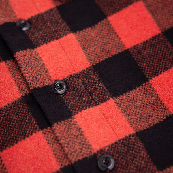Marcus Flannel Shirt - Red