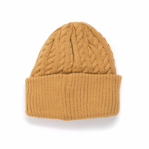 Joe Cable Beanie - Honey Gold