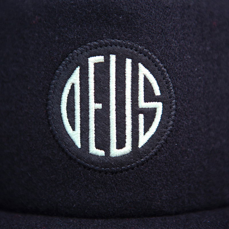 Felt Headlight Cap - Black