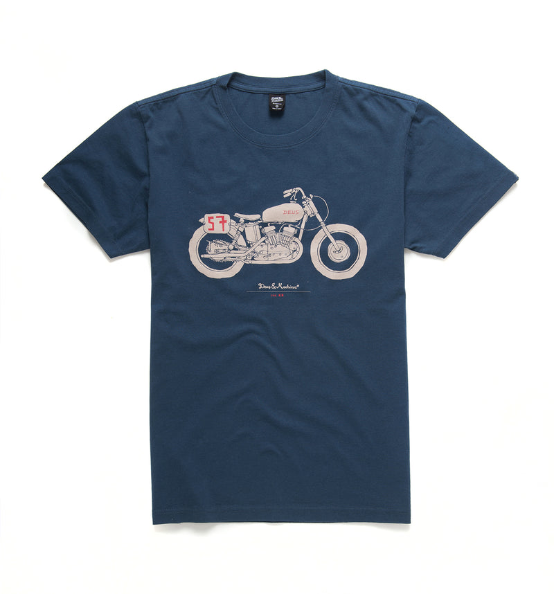 The KR Tee - Navy