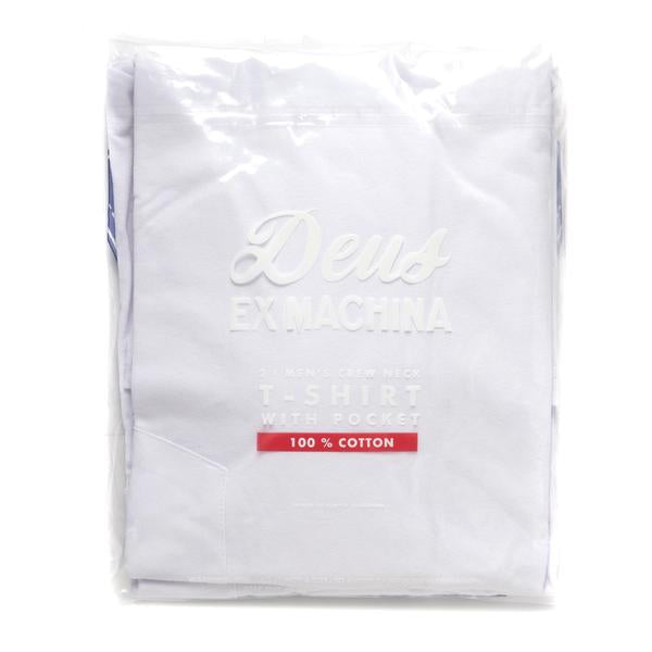 New Deus 2-Pack Tees - White