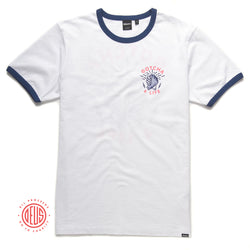 Gotcha 4 Life Foundation - Mission Tee - White / Blue