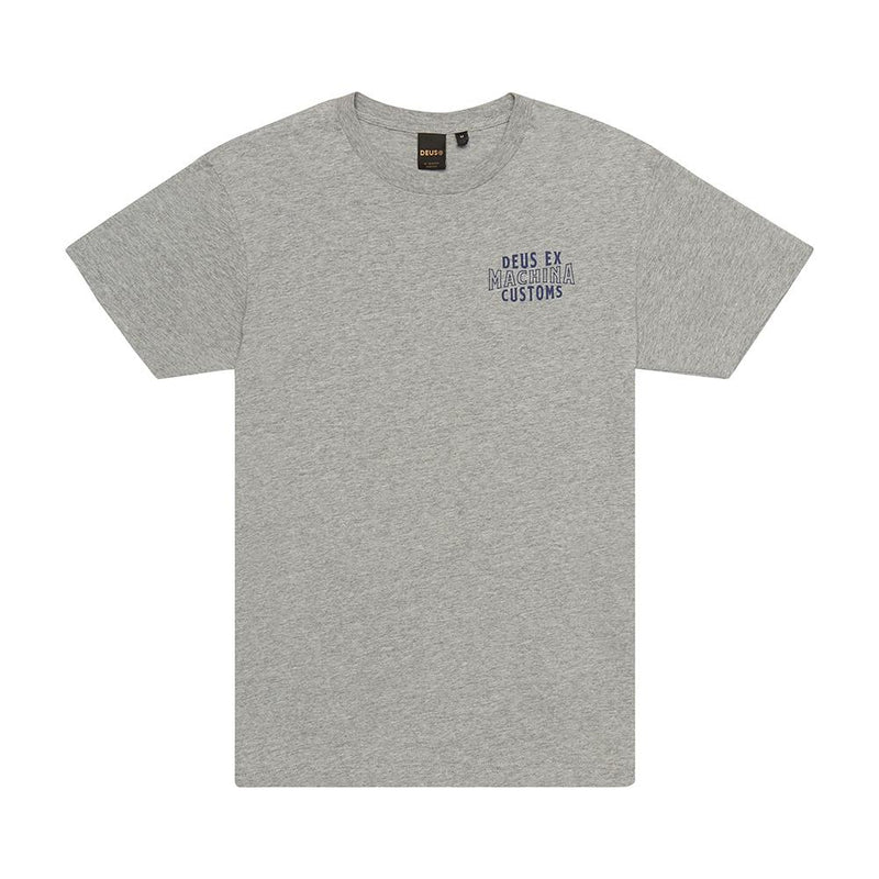 Jnr Patriot Tee - Grey Marle
