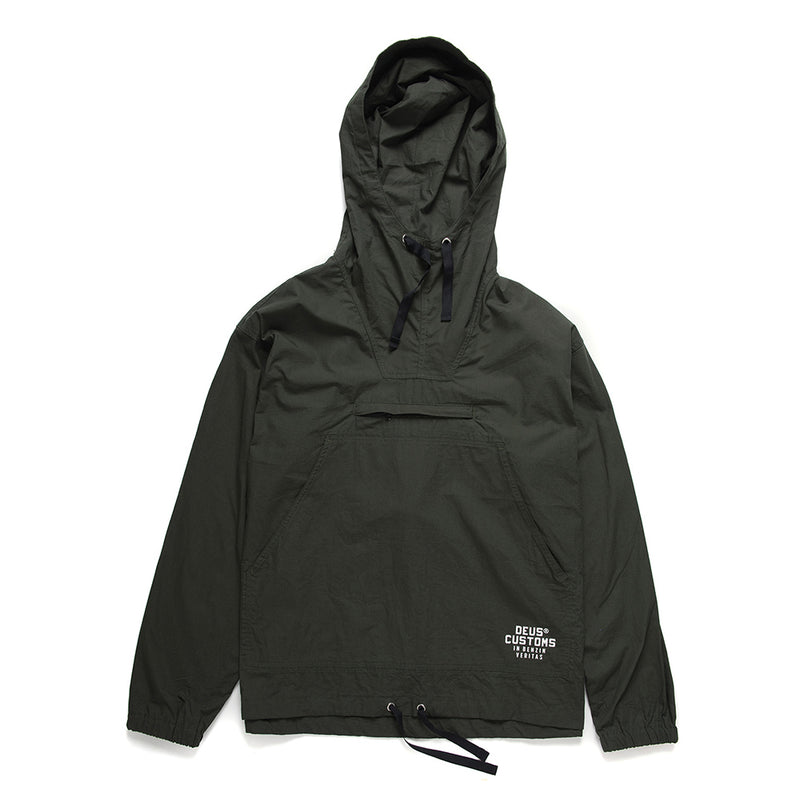Deckard Packable Anorak - Forest Green