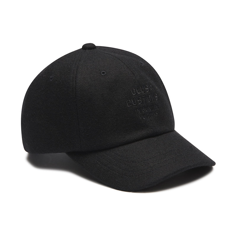 Moleskin Dad Cap - Black