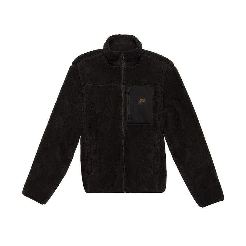 Fletcher Fleece Jacket - BLACK