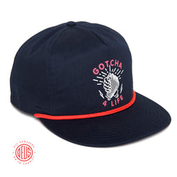 Gotcha 4 Life Foundation - Huggit Cap - Navy