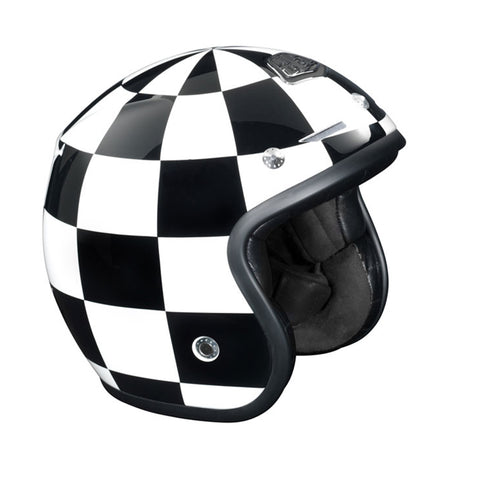 Troy Lee Designs Checkered Open Face Helmet