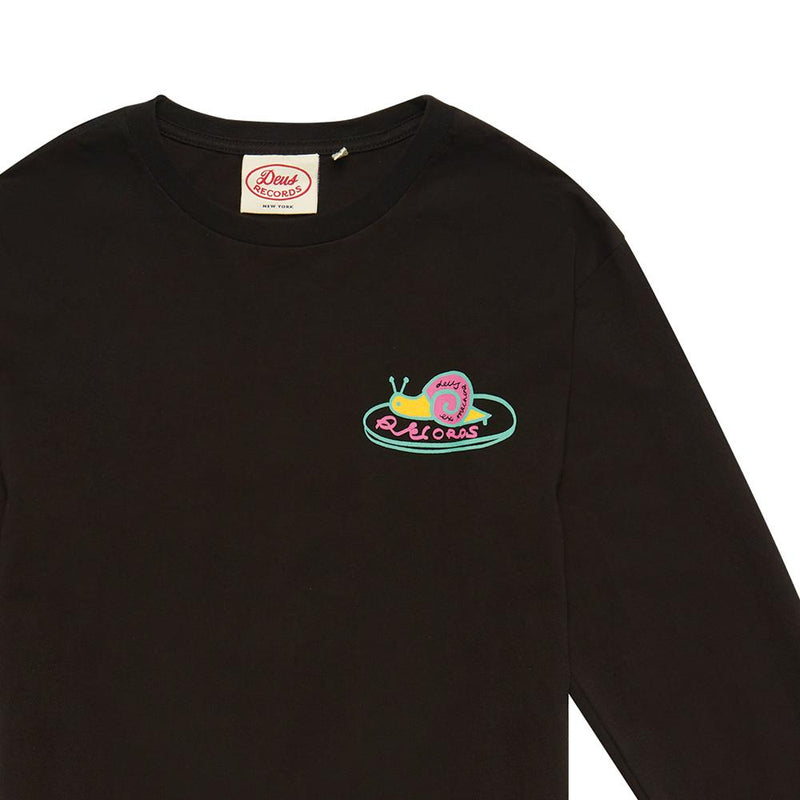 Helix Long Sleeve Tee - BLACK