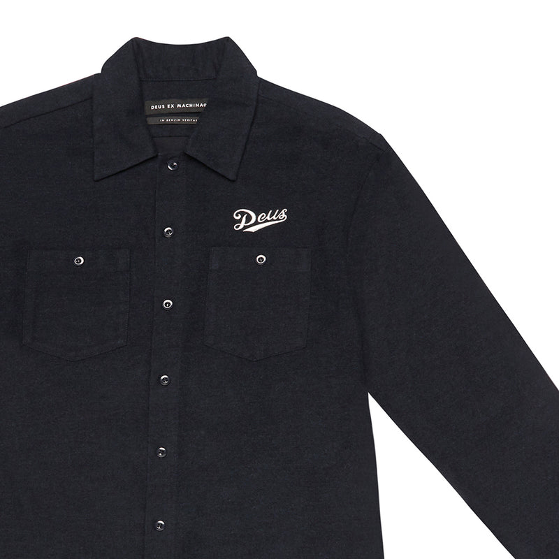 Forecourt Shirt - Navy