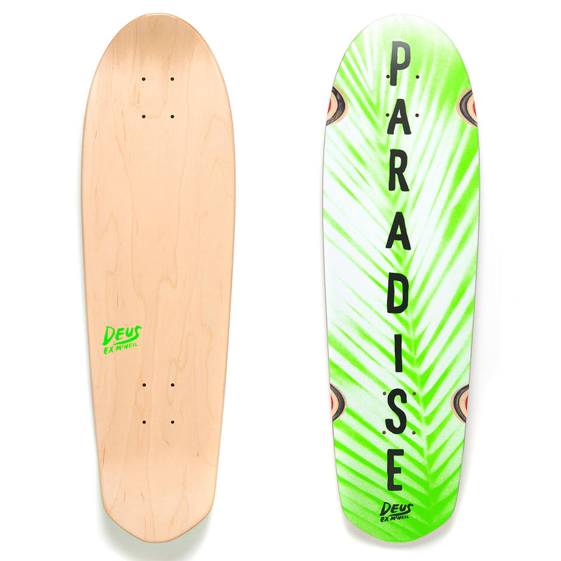 Cruiser Paradise Skateboard Deck - Green