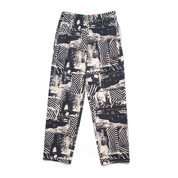Stackwaddy Beach Pant - Black-White