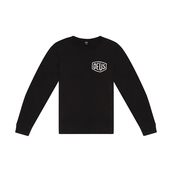 Camperdown Long Sleeve Tee - Black