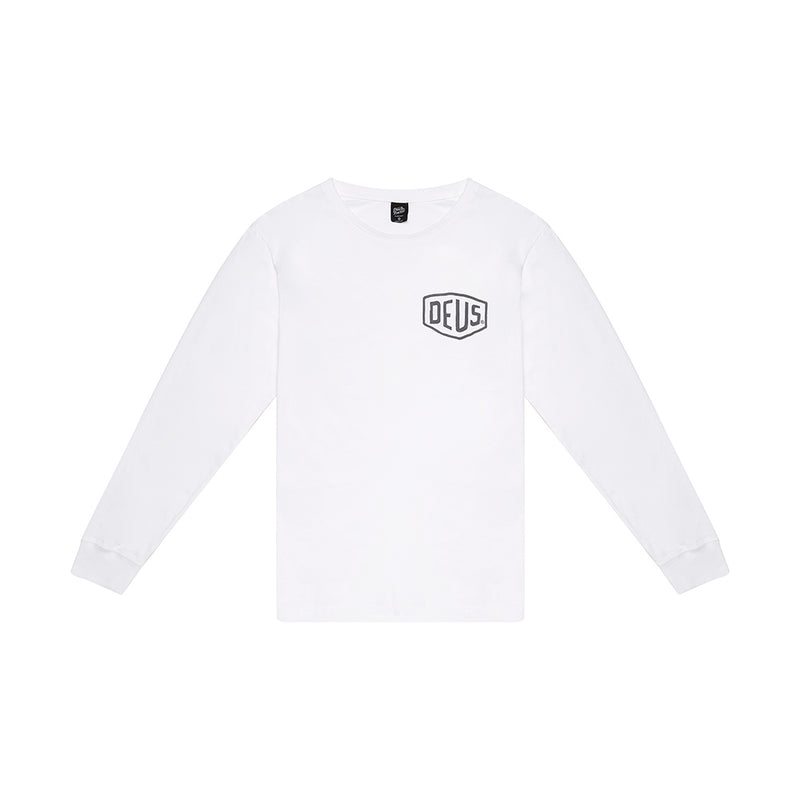 Camperdown Long Sleeve Tee - White