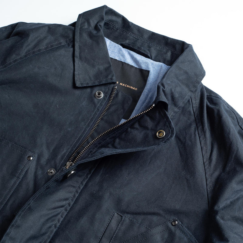 The Julio Verano Jacket - Deep Ocean