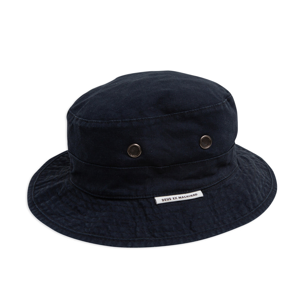 Tarren Hemp Bucket - Phantom Black