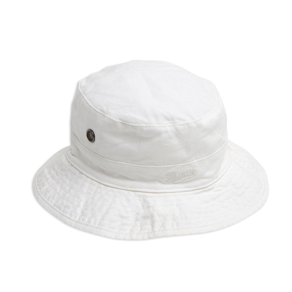 Tarren Hemp Bucket - Dirty White