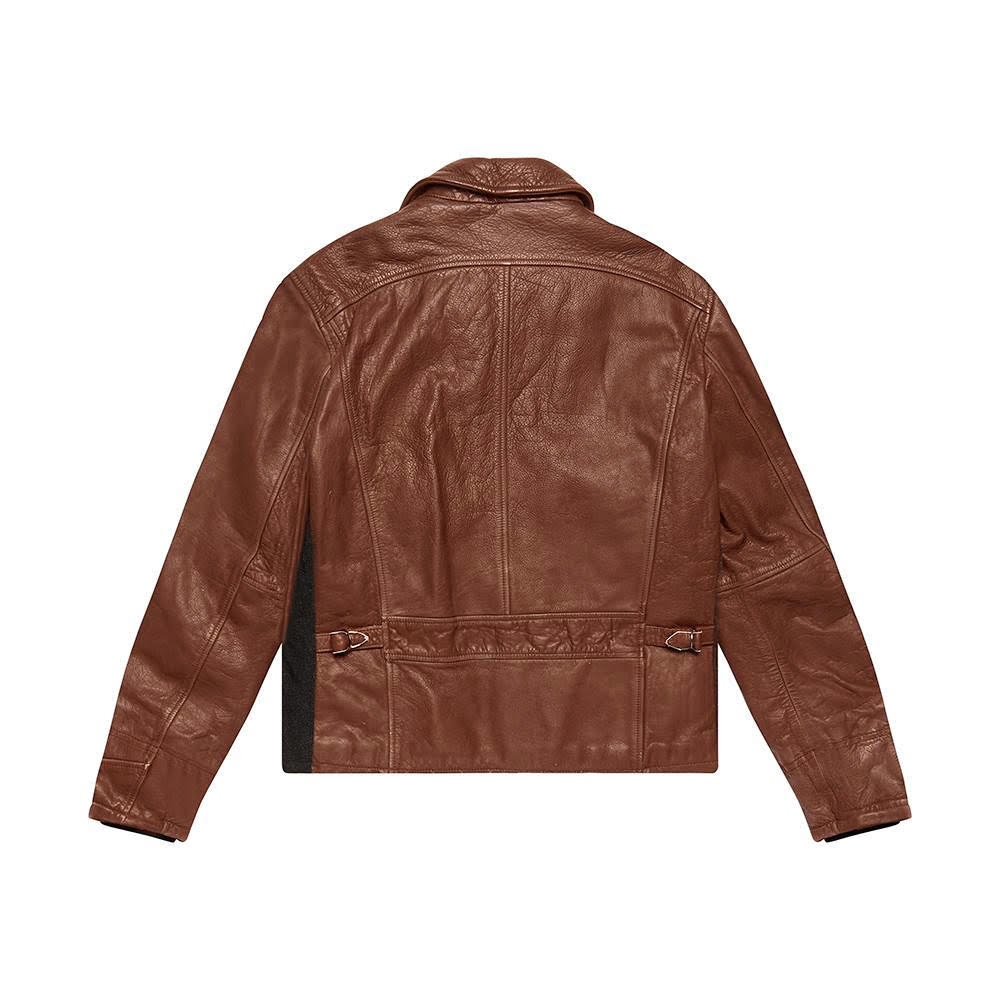 The Rival Jacket - BLACK-TAN