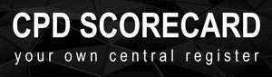 YOUR CPD SCORECARD -  Central register for all your CPD certificates