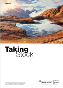 """Taking Stock"" - Investec Asset Management - Summer 2020 - Earn 0.5 CPD hour"