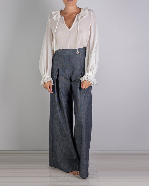 02.08 Riviera Wide Leg Denim Pant