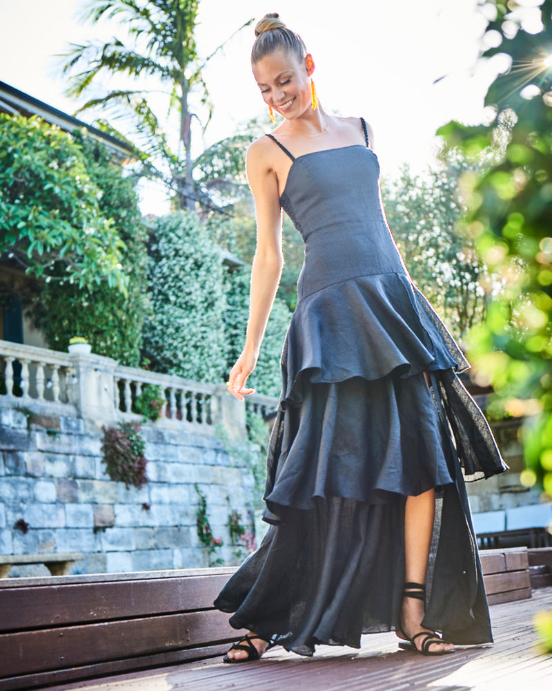 Bellagio Maxi Dress Black