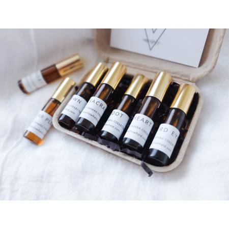 Seven Chakra Essential Oil Aromatherpy Roller Ball Set