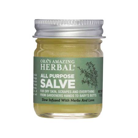 All Purpose Herbal Infused Healing Salve for Dry Skin Scrapes