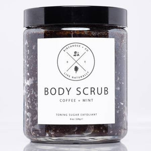 Organic Coffee & Mint Body Scrub by Birchrose & Co