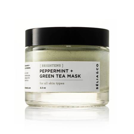 Peppermint + Green Tea Mask - Brightening