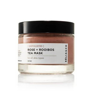 Selia & Co Rose + Rooibos Natural Tea Face Mask for All Skin Types
