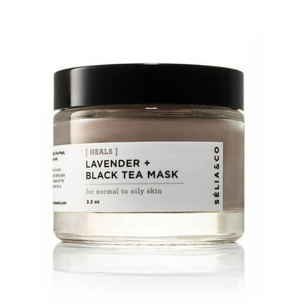 Lavender & Black Tea FAce Mask for Dry to Oil Skin