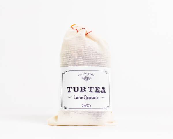 Herbal Infused Botanical Bath Tea