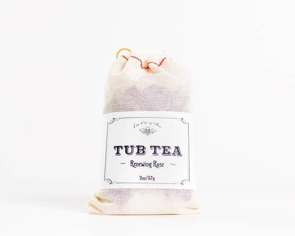 Renewing Rose Herbal Infused Relaxing Bath Tea Soak