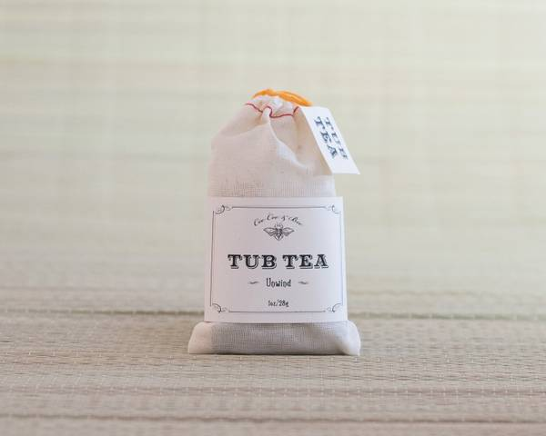 Tub Tea Luxurious Botanical Bath