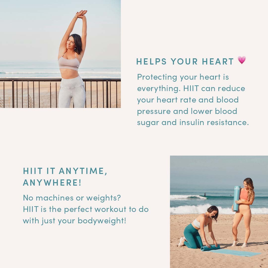 HIIT Workout Benefits Heart Health and Always Available