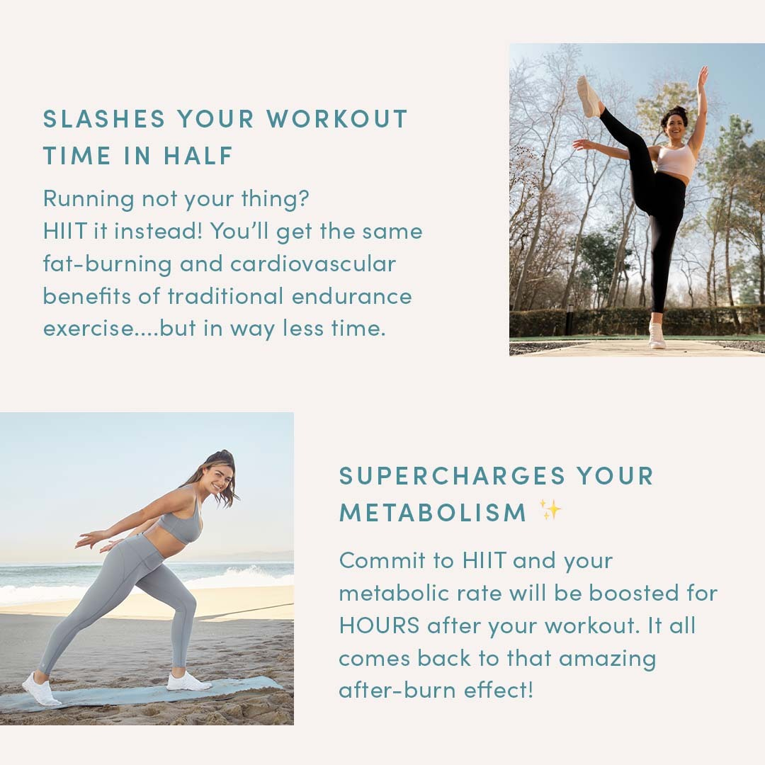 HIIT Workouts Save Time and Boost Metabolism