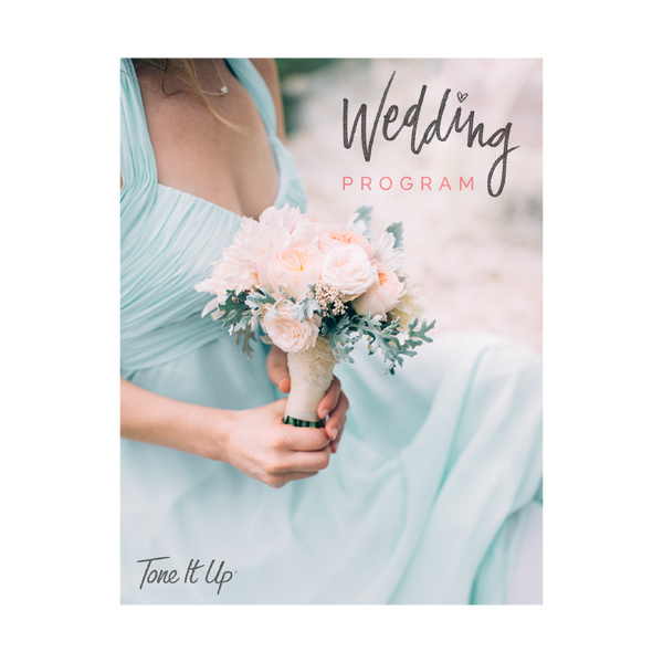 Tone It Up Nutrition Plan - Wedding Edition
