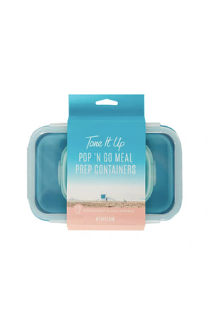 Pop 'N Go Meal Prep Containers