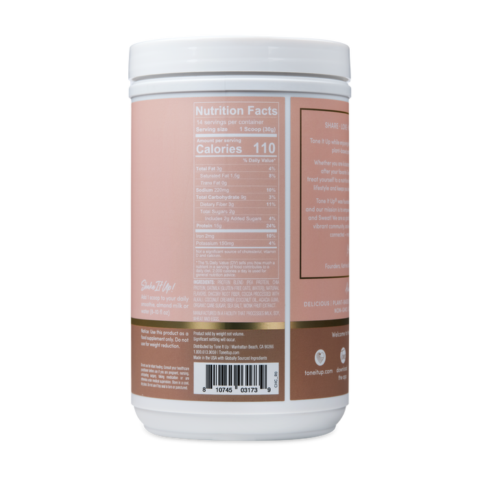 Plant Based Chocolate Protein Powder - 14 Servings 2 Pack