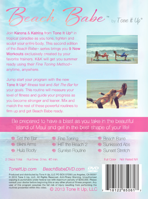 Beach Babe™ 2 DVD + Digital Download - Tone It Up - 3