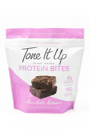 Chocolate Brownie Protein Bites