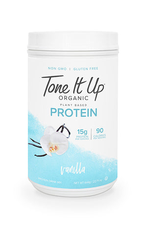 Vanilla Tone It Up Organic Protein - 28 Servings