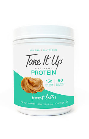 Plant Based Peanut Butter Protein Powder - 14 Servings