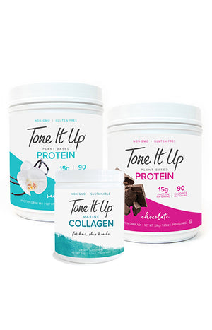 Select Any Two 14-serving Protein Powders & One Collagen & Save 20%