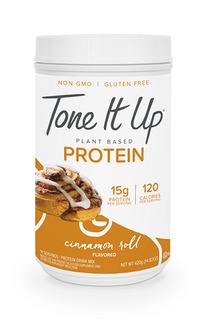 Plant Based Cinnamon Roll Protein Powder - 14 Servings