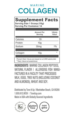 Marine Collagen - 14 Serving