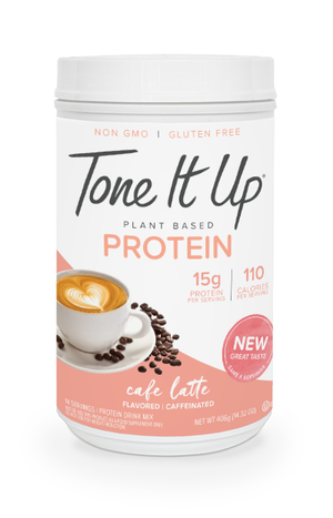 Plant Based Cafe Latte Protein Powder - 14 Servings