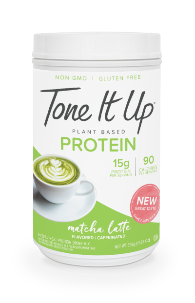 Plant Based Matcha Latte Protein Powder - 14 Servings